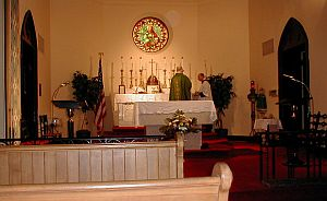 Latin Mass at St. John the Evangelist