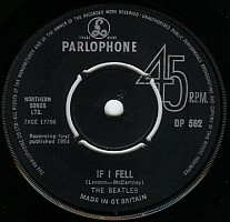 Beatles' If I Fell